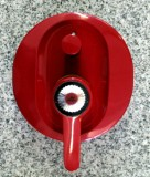 IDEAL STANDARD faucet bathroom Ceramix red