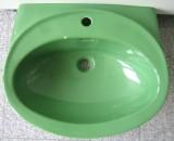 VILLEROY & BOCH Waschbecken / Waschtisch 60,5x46,5 cm OASIS-GRÜN