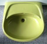 KERAMAG Waschbecken Waschtisch MOOSGRÜN 56 x 50 cm
