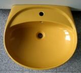 IDEAL STANDARD Waschbecken Waschtisch 60 x 51,5 cm CURRY GELB