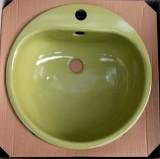 TEKA KW3 Einbauwaschbecken Einbau-Waschbecken Moosgrün 46,5 cm