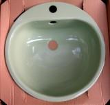 TEKA KW3 Einbauwaschbecken Einbau-Waschbecken Evergreen 46,5 cm
