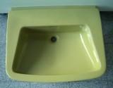 Markenwaschbecken Waschbecken Waschtisch 66 x 54 cm MOOSGRÜN