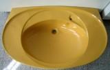 VILLEROY & BOCH Waschbecken Waschtisch 101 x 62 cm CURRY GELB