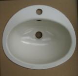 TEKA KW9 Einbauwaschbecken Einbau-Waschbecken CHAMPAGNER 41 x 36 cm