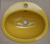 TEKA KW9 Einbauwaschbecken Einbau-Waschbecken Gelb 41 x 36 cm