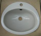 TEKA KW9 Einbauwaschbecken Einbau-Waschbecken HELL-GRAU 41 x 36 cm