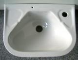NOVO-BOCH kompaktes Handwaschbecken / Waschtisch WEISS 41x29,5 cm