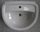 Keramag Delta Diara Waschtisch Waschbecken 60 x 48 cm Manhattan Grau