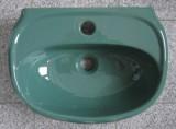 KERAMAG Mango Waschbecken Handwaschbecken 45x33 cm Mento Türkis
